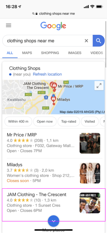 Google My Business: Beats Facebook's Digital